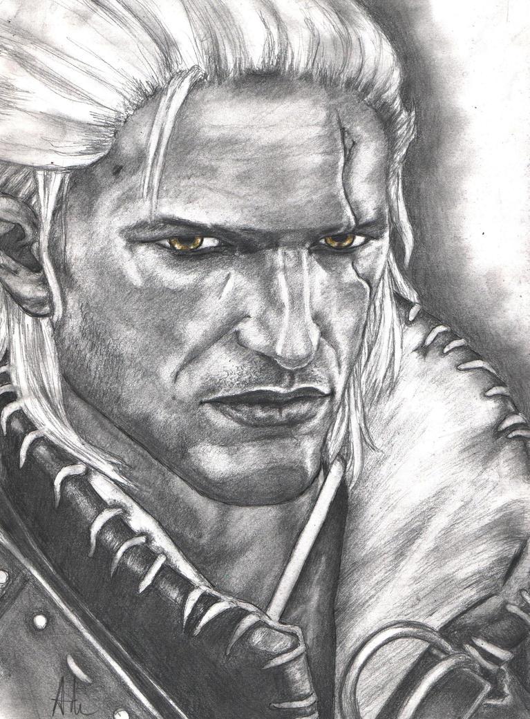 Geralt (The Witcher 2) by RebellionAngel
