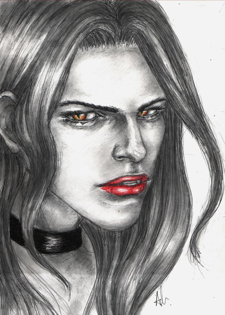 Heather (request art from NightAngel-16) by RebellionAngel