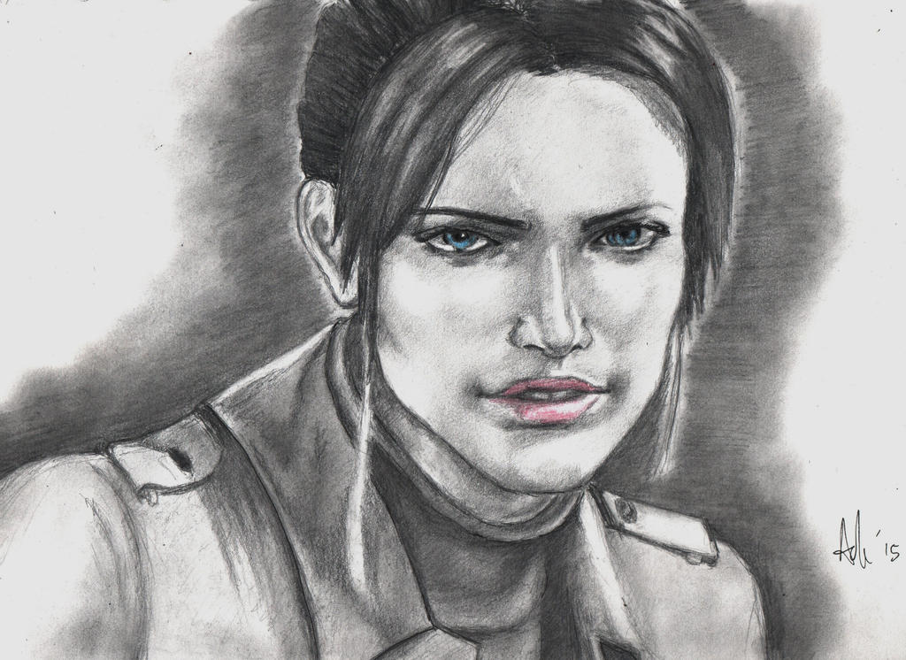 Claire Redfield RE:Degeneration by RebellionAngel