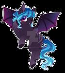 (price lowered) Bat Pony Adopt - closed