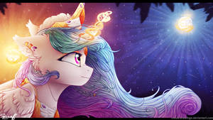 Celestia's Moonrise