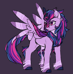 Kirin Twilight by Cloud-Drawings