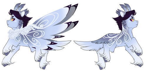 Grotto Wysp Adopt - Blizzard by Cloud-Drawings