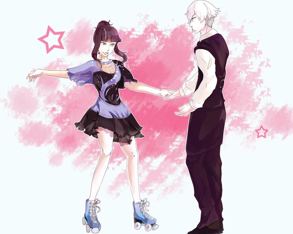 Decim and Chiyuki by Touko97 on DeviantArt