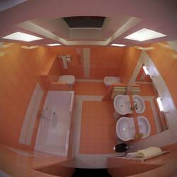 fisheye bath