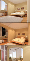 Bedroom modern Day and Night