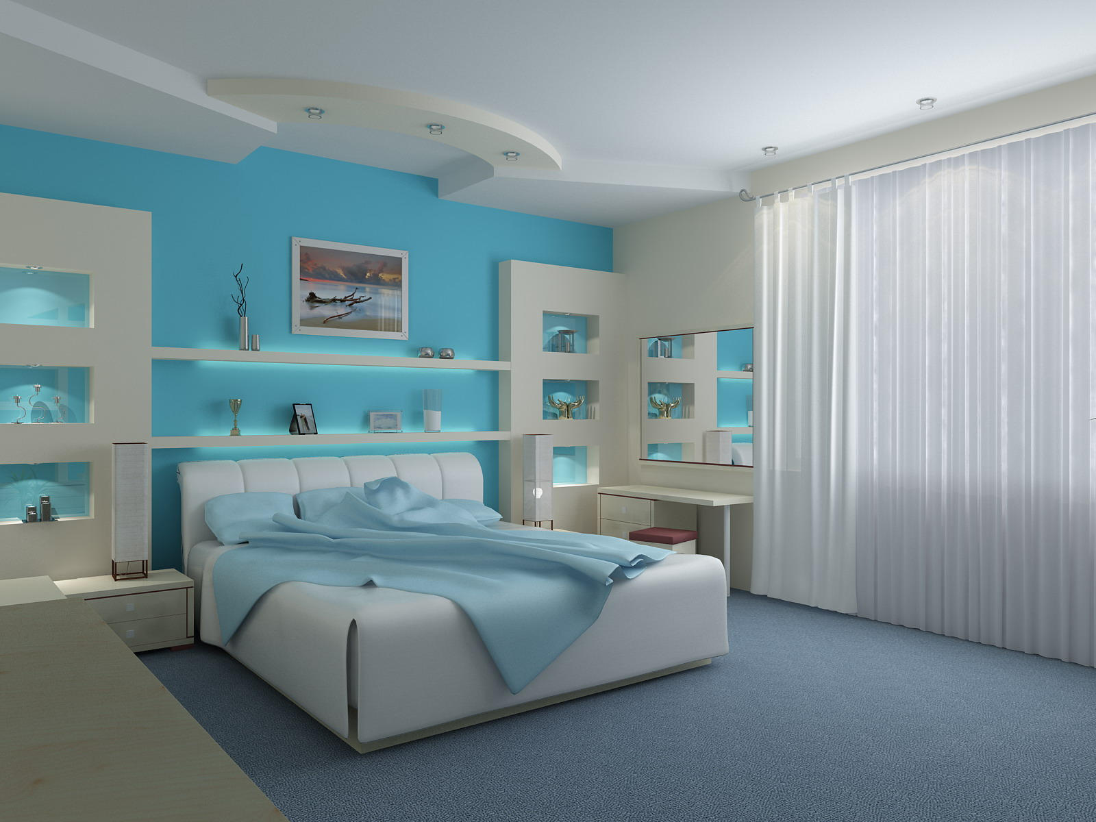 """Sealike"" Bedroom by rOSTyk"