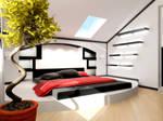 Penthouse bedroom part 0