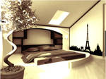 Penthouse Sepia and Eiffel