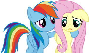 Hey Fluttershy, whats wrong?