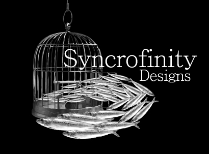 Syncrofinity Designs Logo by Zafaria