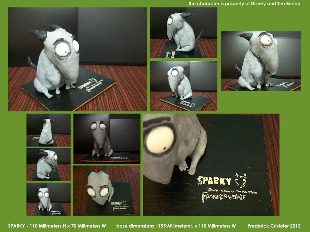 Sparky from Frankenweenie by marlborored24