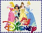 Disney Princess Novelty Stamp by ryan4britney