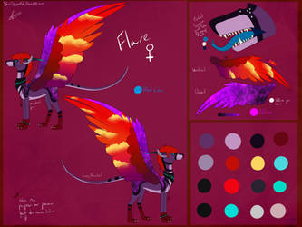 [OUTDATED] Flare Ref Sheet by Arolitic