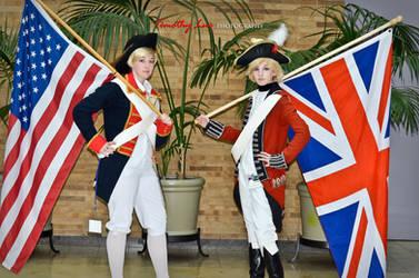 Hetalia: Revolutionary War by KaitlynxCross