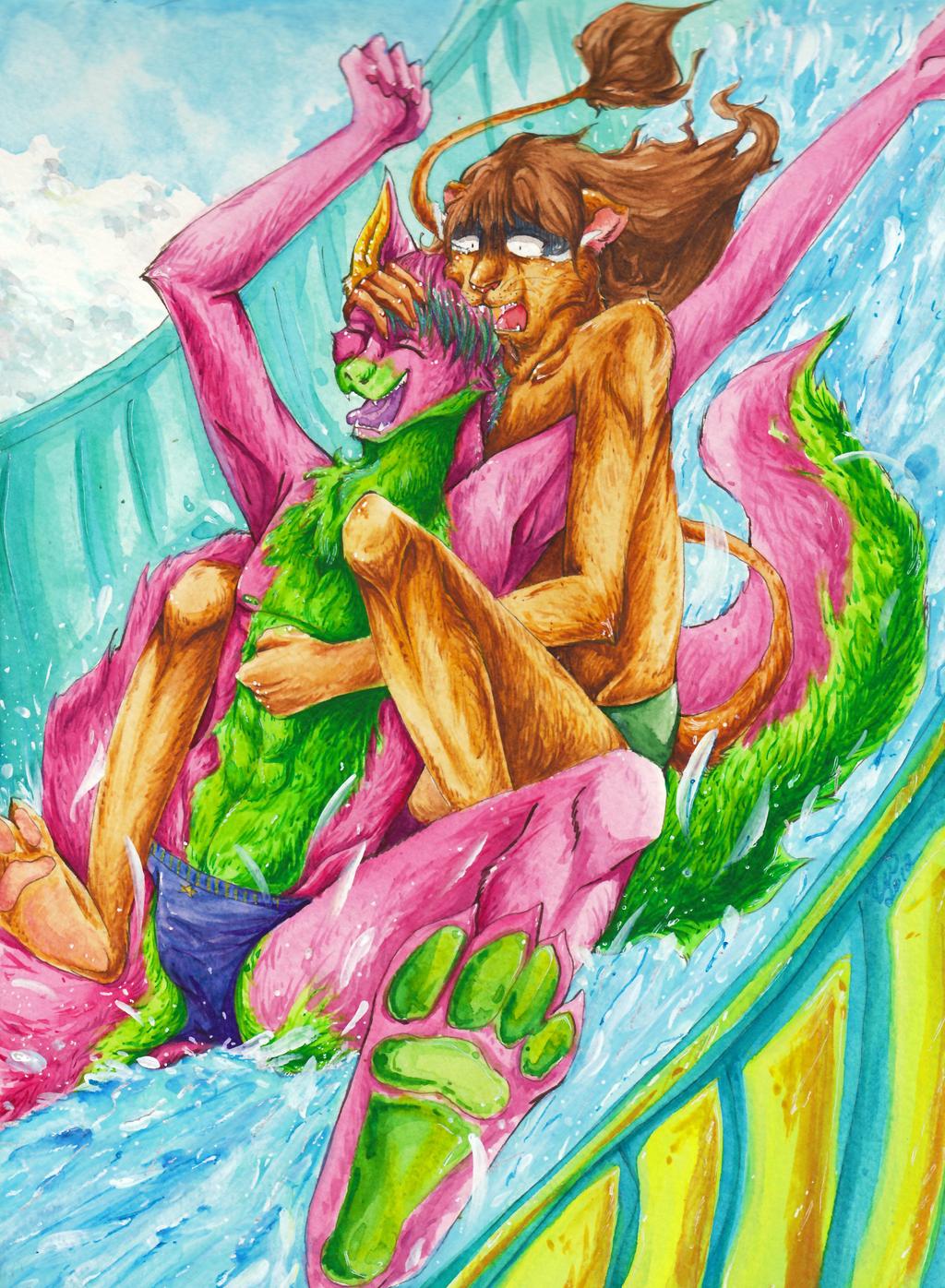 YEAAAH by artist-Kat