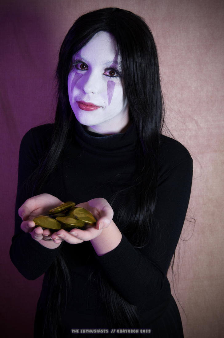 No Face - Ohayocon 2013 by matchahime