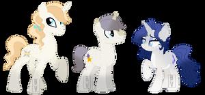 Bookieverse- Rarity's family