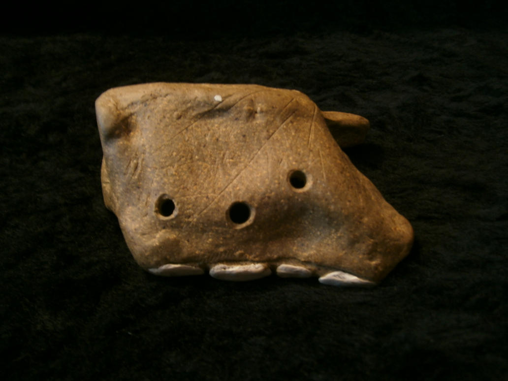 Spinal Ocarina (view 2) by Larcivus