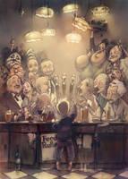 a Cafe by firkoski
