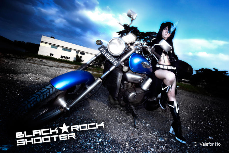 black rock shooter. Black Rock Shooter Cosplay IV