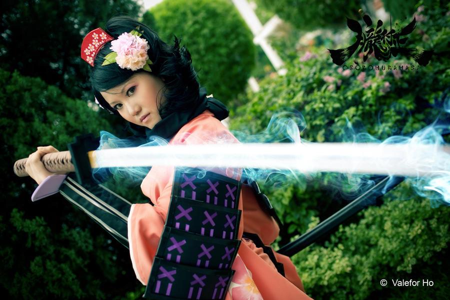 Oboro Murasama - Momohime by ValeforHo