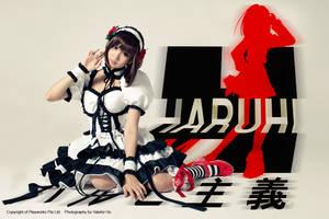 Haruhi Suzumiya Gothic Loli I by ValeforHo