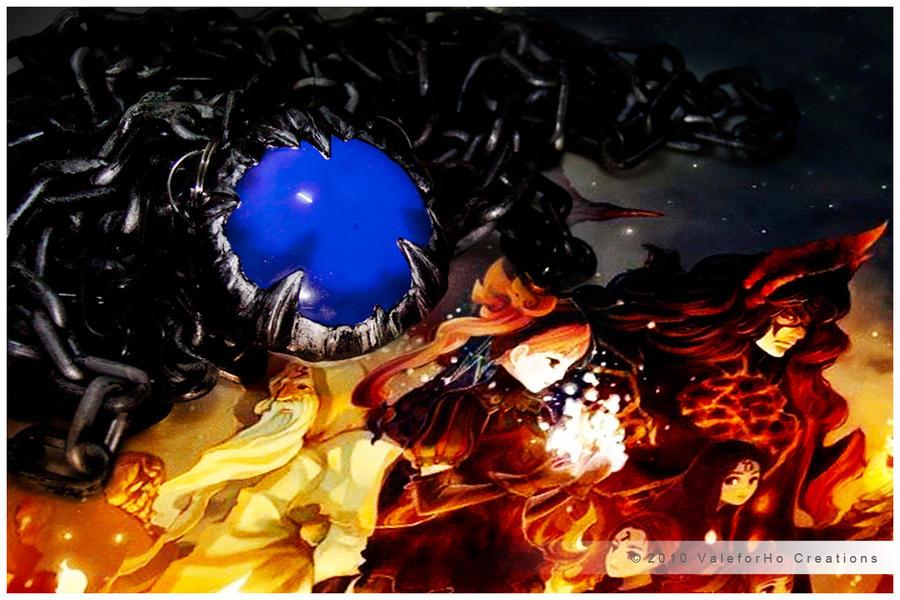 Blue Sacred Stone by ValeforHo