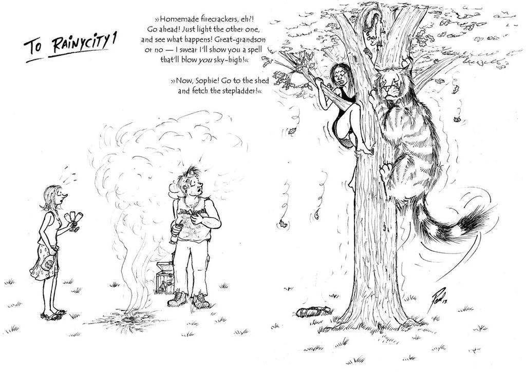 Firework Cartoon by PaulEberhardt