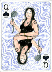 Gundula as Queen of Spades