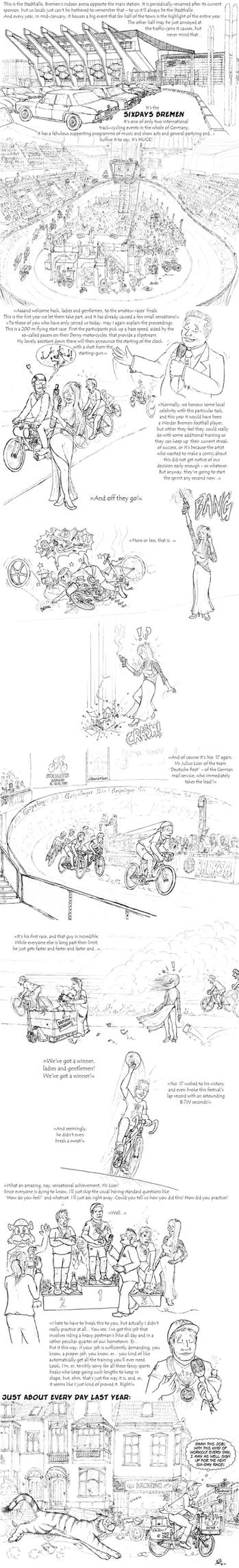 Master the Tiger: Bicycle Race by PaulEberhardt