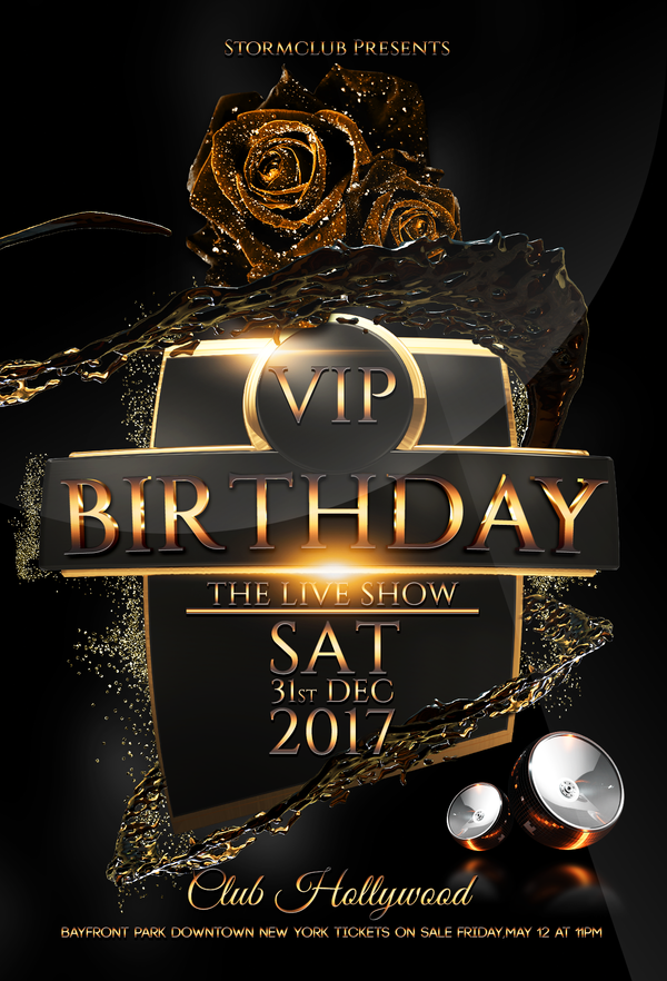 Vip Birthday Rgb By Stormclub On Deviantart