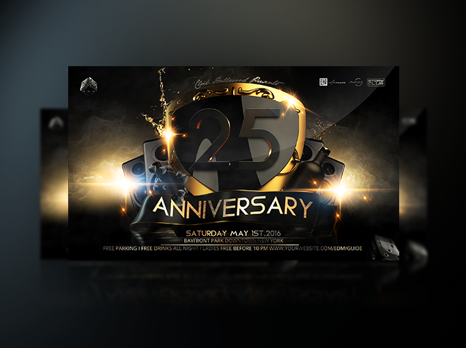 Anniversary Party Invitations Flyer By Stormclub ...