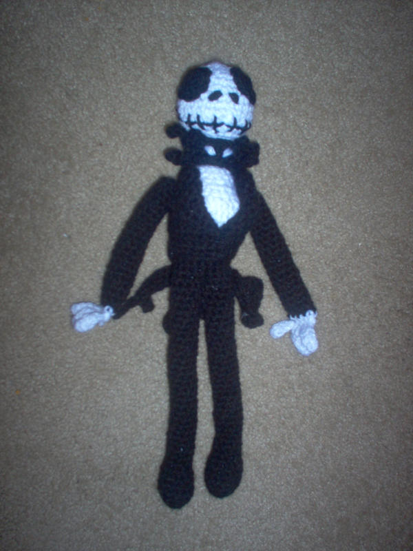 Jack Skellington amigurumi? by mamalovesakm on deviantART