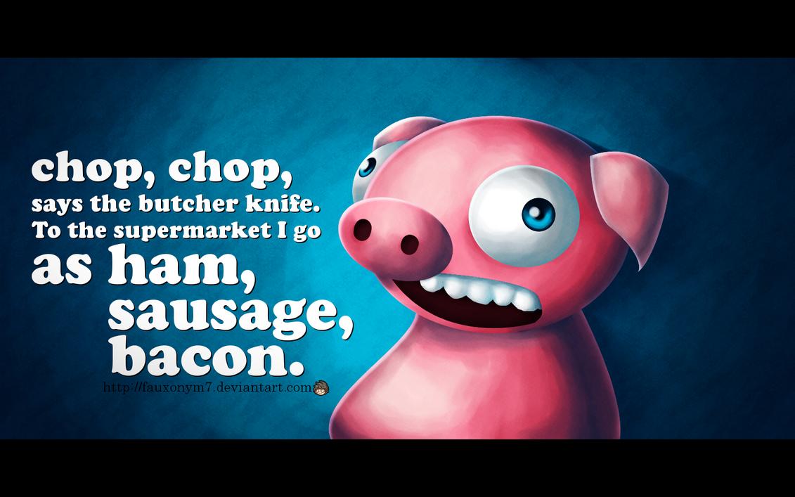 Ham, Sausage, Bacon by fauxonym7
