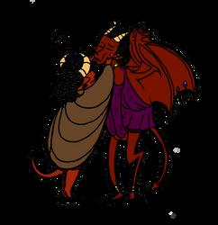 Faust - Mefistos headcanon by Maralyss