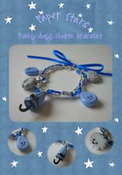 Rainy days charm bracelet