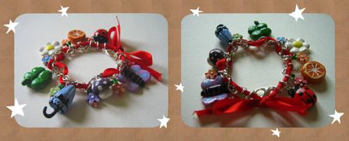 Garden party bracelet