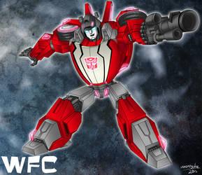 WFC Sideswipe by umenosuke