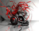 Abstract headphones by makkman4d