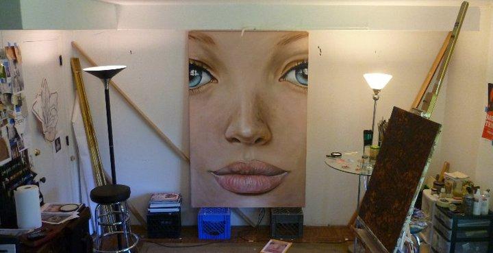 Face_01_Caucasian In Studio by bensharkey