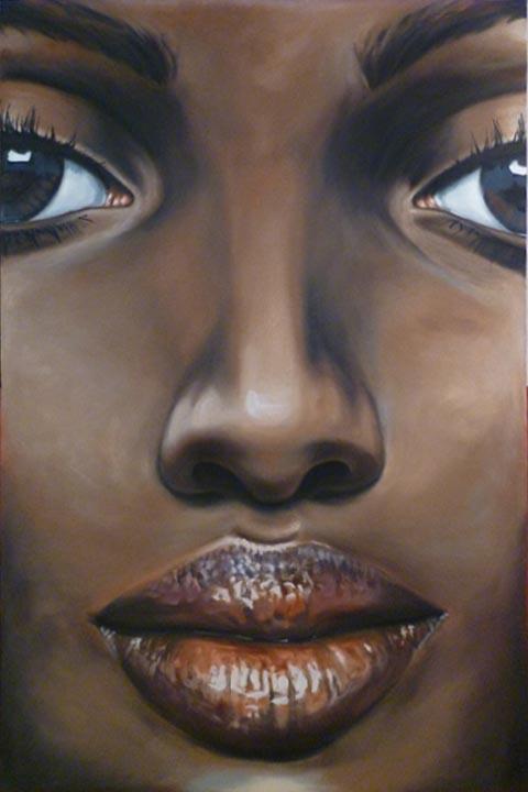 Face 02 African by bensharkey
