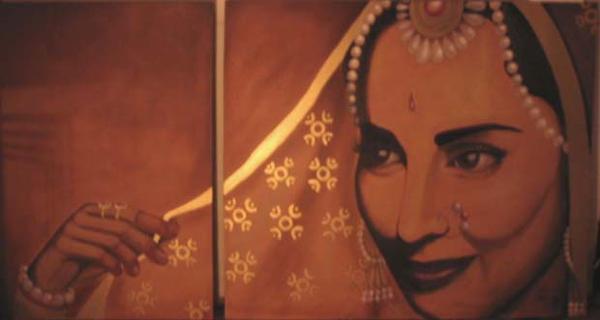 Indian Queen by bensharkey