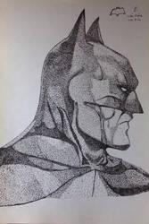 Batman potrait by theshadowX14