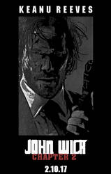 John Wick poster by theshadowX14