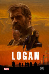 LOGAN poster  by theshadowX14