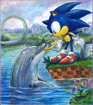 Sudden Encounter - Sonic and Ecco