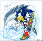 Sonic and Ecco - Wave Ocean