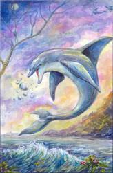 The Future Dolphin s Game - by Liris by Liris-san