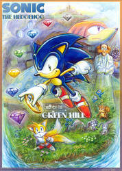 Sonic the Hedgehog - Child of the Green Hill cover by Liris-san